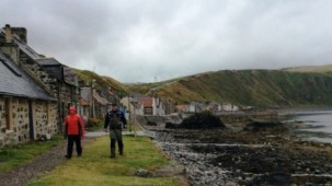 In Crovie - Peter's Motorradreisen